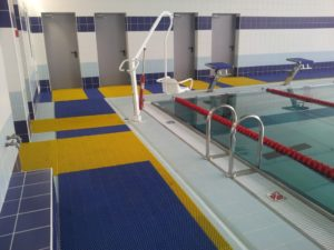 Дорожки напольные для бассейна в стиле Икеа.