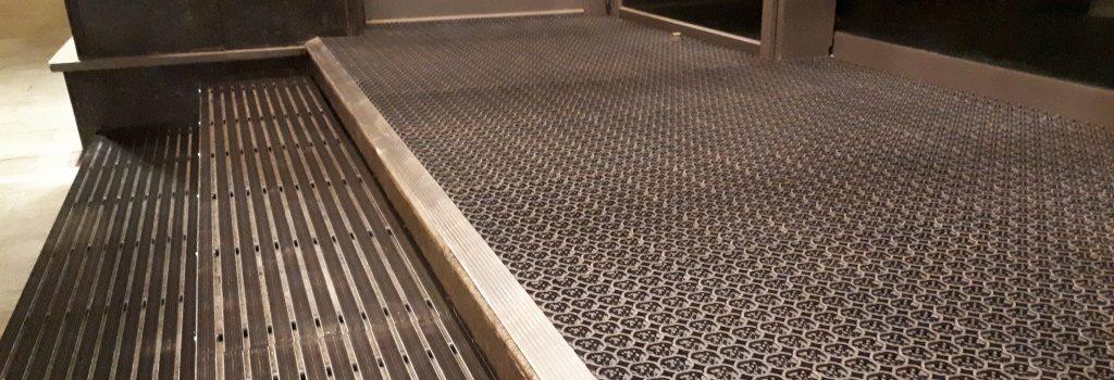 Грязяезащитные покрытия и решетки.